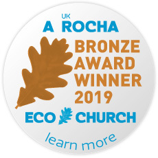 Eco Church Bronze Award Winner 2019