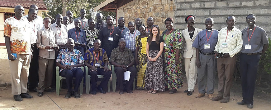 Workshop of Episcopal Church of the South Sudan and Sudan Episcopal University Partnership