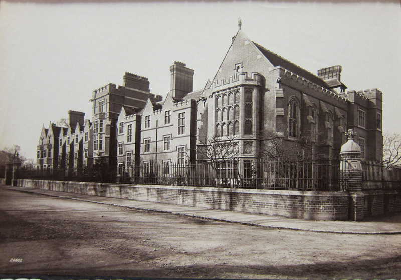 Image of Ridley Hall from the 19th century