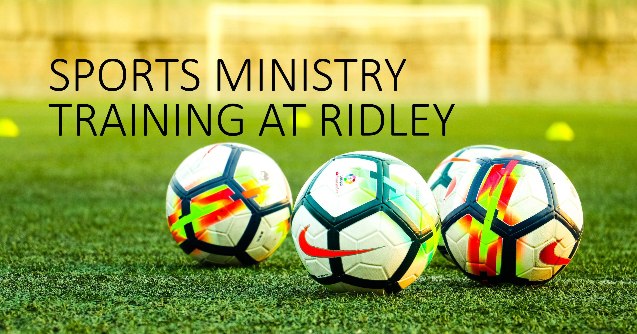 Click to find out more about training for sports ministry at Ridley Hall